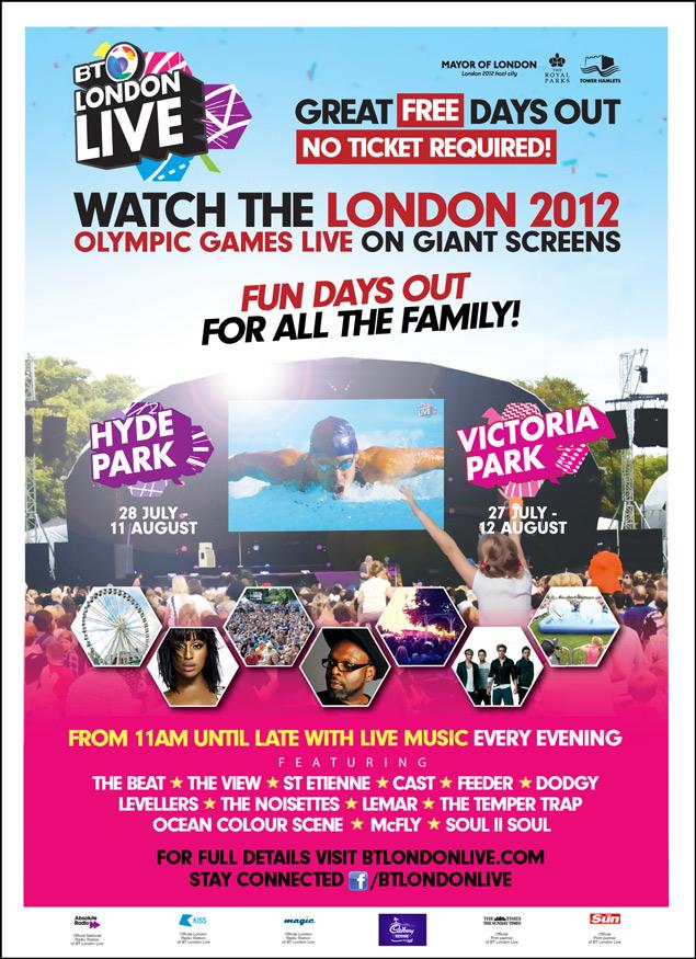 BT London Live 2012